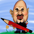 Learn how to draw. Who can draw cartoon caricature.