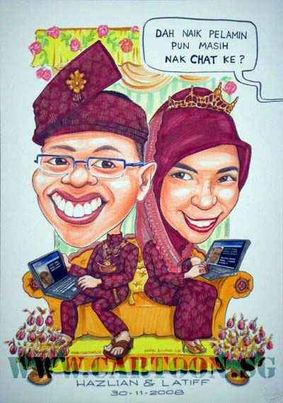malay-wedding-internet-laptop