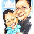 couple-caricature-sydney