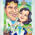 The drawing was completed on 10th April 2009 and mailed to them in United Arab Emirates. They request that we only show it after their wedding in January 2010.