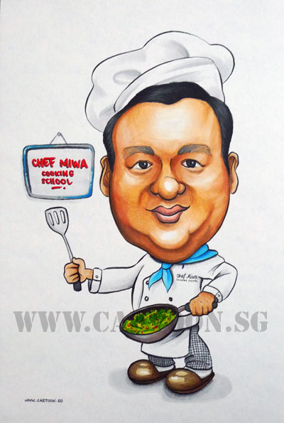 caricature-japanese-chef-cook