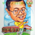 Golf-Nut-Boss-Caricature