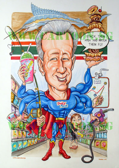 7-11_Singapore_Caricature