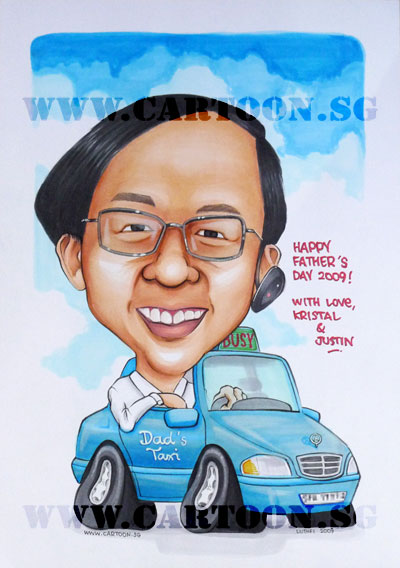 caricature-fathersday-mercedes