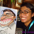 Caricature drawing exaggerated style how to draw caricatures Singapore style