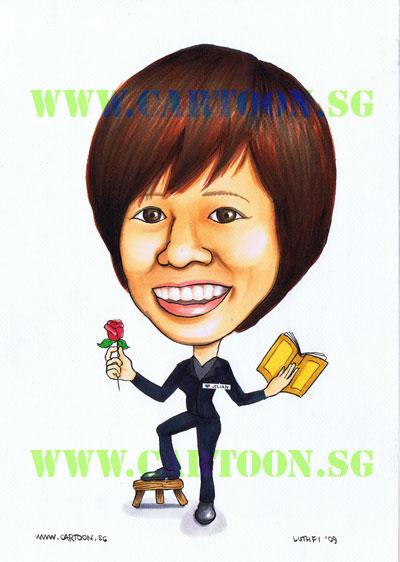 caricature-singapore-librarian-romance.jpg
