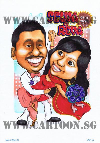 bollywood-couple-caricature.jpg