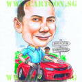 BHP-Singapore-Caricatures-Boss-Sports_Car
