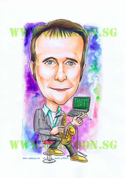 BHP-Singapore-Caricatures-Jazz_musician