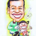 Gift-Caricature-Dentist-Singapore