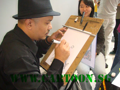 live-caricature-event-duke-nus-university-singapore-1