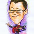 sezairi singapore idol singaporeidol 2009 happynewyear caricature