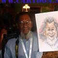 Journalist-Caricature-Berita-Harian-Photographer