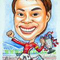 Arsenal-Soccer-Boy-Gifts-Caricatures