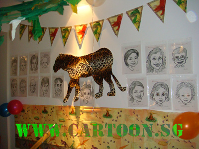 live-birthday-caricature-event-children-party-4