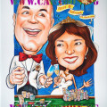 caricature-wedding-casino-gamble-champagne-suit