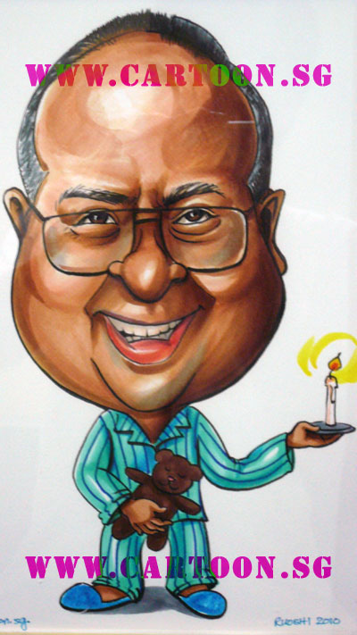 gift-caricature-boss-never-sleep-candle-pyjama-teddybear-cartoon-sg.jpg
