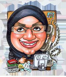 Anna-caricature