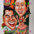 wedding, gift, proposal, diamond, ring, fireworks, singapore, caricature, cartoon.sg, flowers, roses