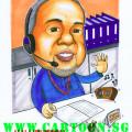 halliburton-oil-operation-officer-vendors-singapore-caricature-cartoon.sg