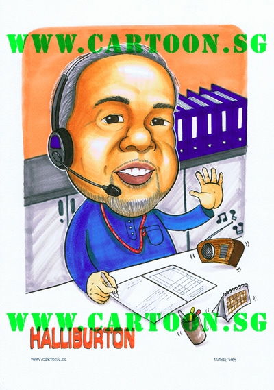 halliburton-oil-operation-officer-vendors-singapore-caricature-cartoon.sg
