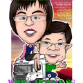 GKE-truck-gift-caricature