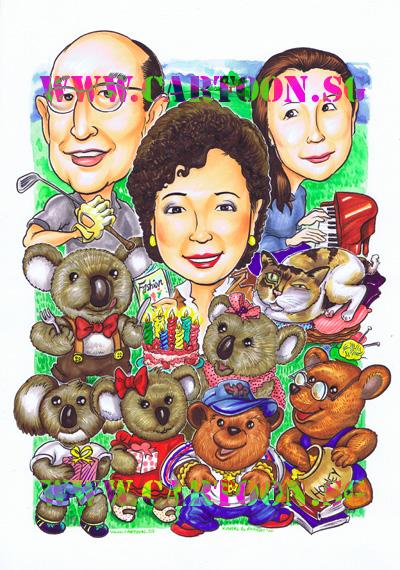 Gift-Caricature-Koala-Bears