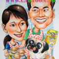 Muffin-Loving-Dog-Caricature