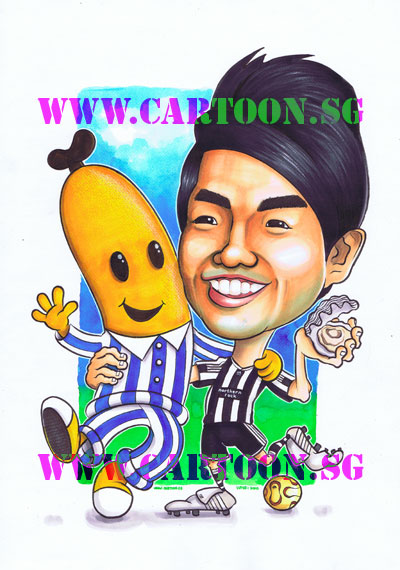 Birthday-Gift-Caricature-Newcastle-B2