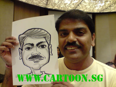 career-centre-north-east-live-event-caricature-6