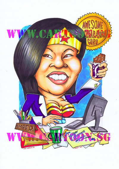 Gift-Caricature-Awesome-Clearance-Guru
