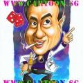 Gift-Caricature-Disco-Gambler