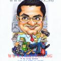 Gift Caricature - Bank Operator Editor