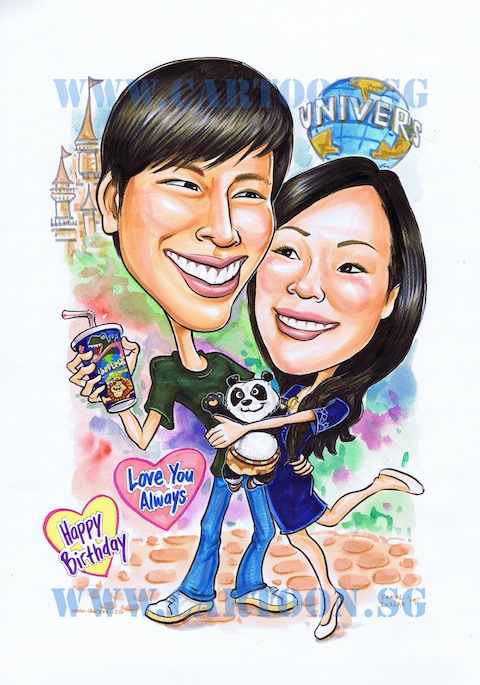 2011-01-28-couple-universal-studio-singapore-caricature.jpg