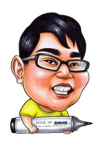 caricature-artist-tank