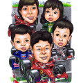 F1 race family from Singapore