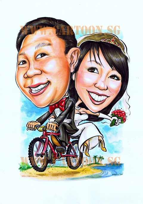 2011-05-24-couple-on-bicycle-wedding-caricature-480px.jpg