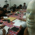 Drawing class in Singapore taught by professional artists.