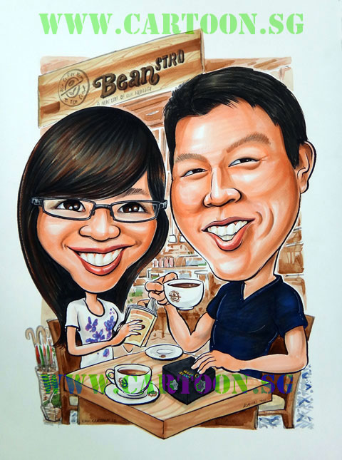 2011-09-20-couple-coffeebeantealeaf-caricature.jpg