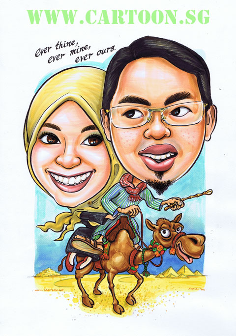 2011-12-14-camel-egypt-couple-pyramid-cartoon-caricature-singapore.jpg
