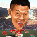 2012-05-09-Soccer caricature-Retro-ManU-digital