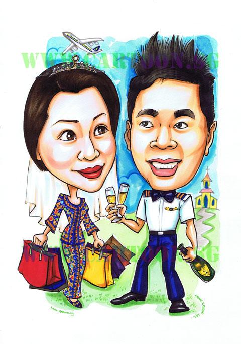 2012-07-12-pilot-stewardess-wedding-caricature.jpg