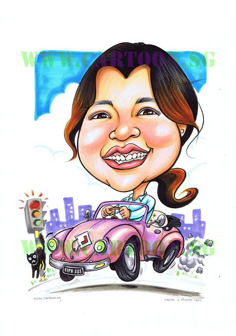 2012-07-19-vw-beetle-pink-lplate-driver-caricature-cartoon.jpg