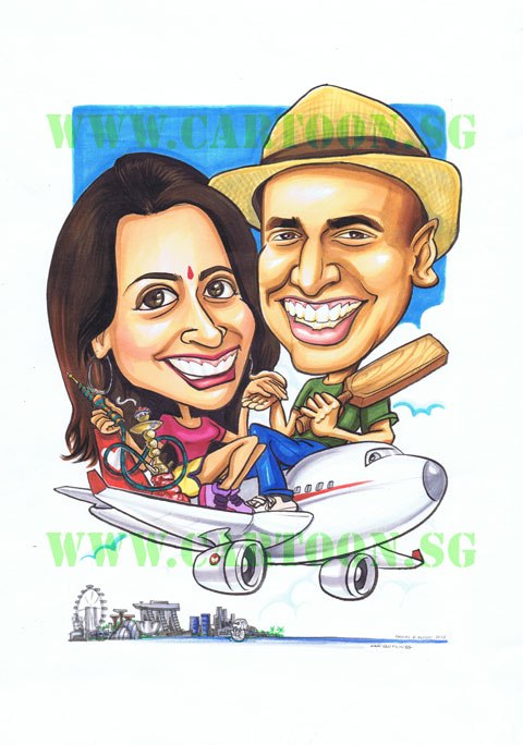 2012-07-31-couple-aeroplane-cricket-sheesha-shisha-singapore-skyline-flyer-indian-travel-cartoon-caricature.jpg