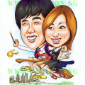 2012-08-07-Harry_Potter-Couple-Gift-Caricature-Love-presents