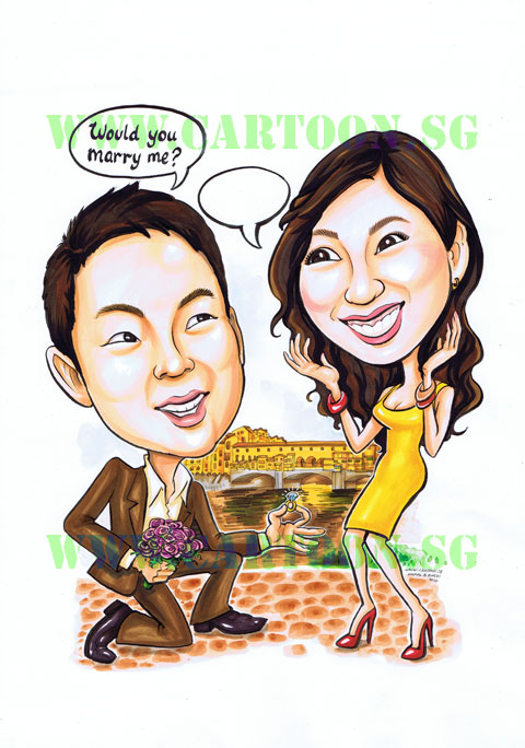 2012-08-16-couple-proposal-italy-bridge-gift-caricature-wedding.jpg
