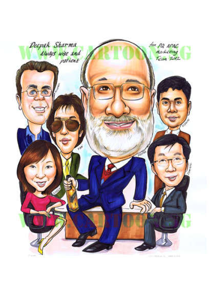 2012-08-31-Board-room-CEO-Director-meeting-corporate-gift-caricature
