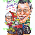 2012-10-12-Farm-tractor-cartoon-farmer-gift-70th-birthday-present-caricature-australia