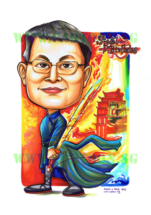 2012-10-18-warrior_gift-award-plaque-trophy-special-chinese-character-martial-arts-cartoon-caricature.jpg