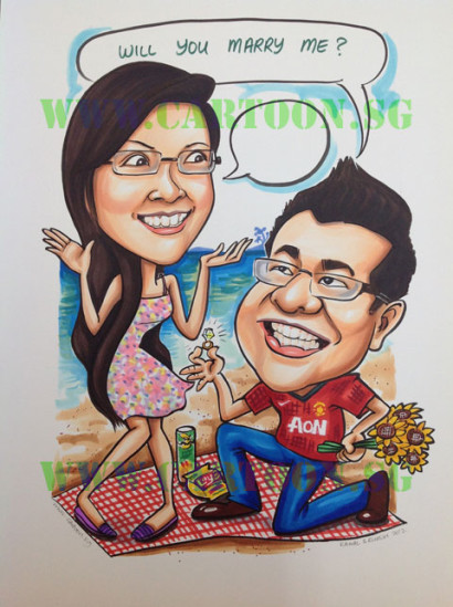 2012-11-28-Studio-Order-Caricature-Couple-A3-Proposal